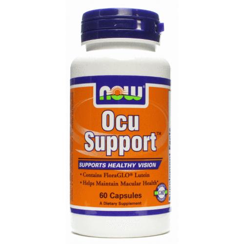 Фото NOW Ocu Support, витамины и минералы