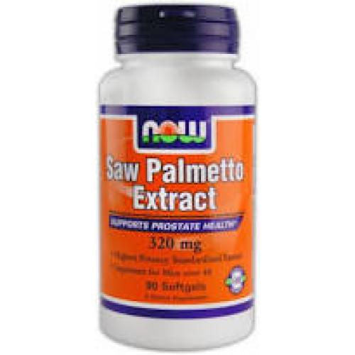 Фото NOW Saw Palmetto Extract 160 мг