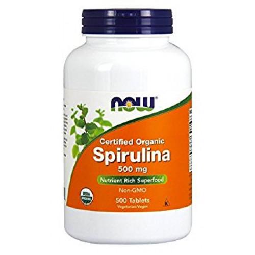 Фото NOW Spirulina 500 mg