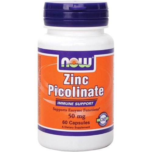 Фото NOW Zinc Picolinate 50 mg