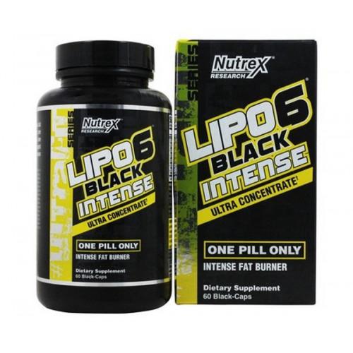 Фото Nutrex Lipo 6 Black Intense Ultra Concentrate, жиросжигатель липо 6