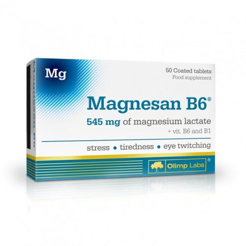 Фото Olimp Magnesan B6, витамины и минералы