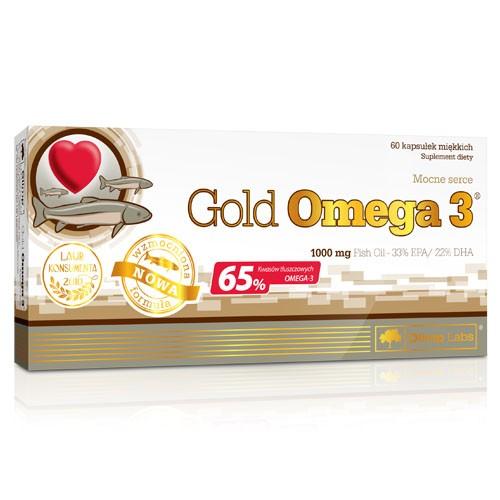 Фото Olimp Gold Omega 3 65%