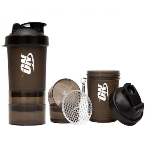 Фото Optimum Nutrition Smart Shaker, шейкер 600 мл 3 в 1