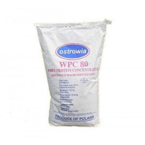 Фото Milkiland Ostrowia WPC 80, сывороточный протеин на развес