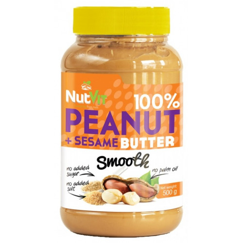 Фото Ostrovit Peanut Butter Sesame, арахисовая паста