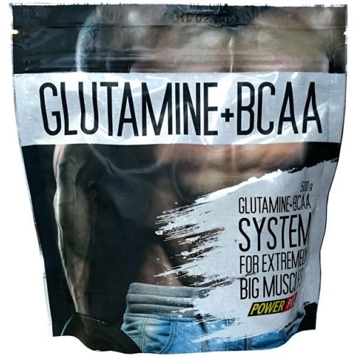 Фото Power Pro Glutamine + BCAA, Аминокислоты