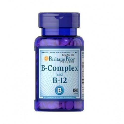 Фото Puritan's Pride Vitamin B-Complex And Vitamin B-12