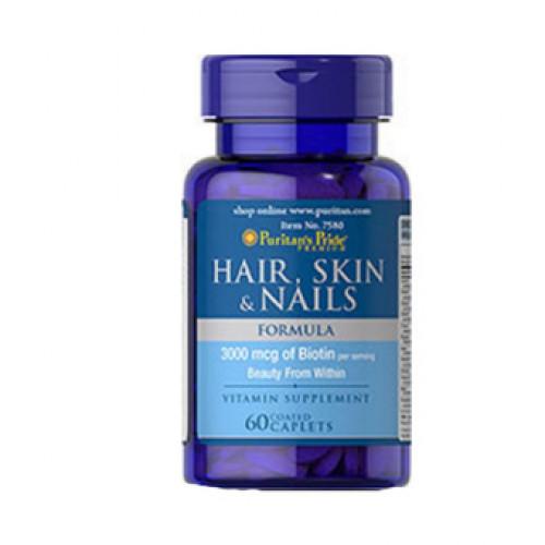 Фото Puritan's Pride Hair Skin & Nails, витамины