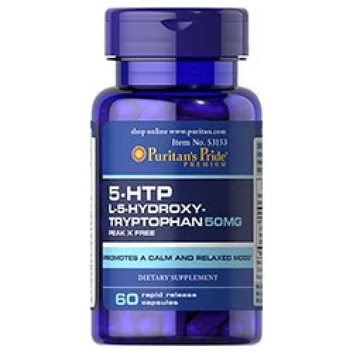 Фото Puritans Pride 5-HTP 100 mg. триптофан