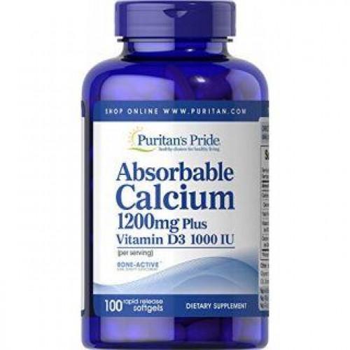 Фото Puritan's Pride Absorbable Calcium with Vitamin D3
