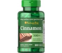 Puritan`s Pride Cinnamon