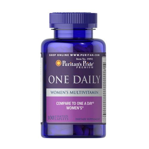 Фото Puritan's Pride One Daily Women's Multivitamin, витамины и минералы для женщин