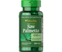 Puritan`s Pride Saw Palmetto 450mg