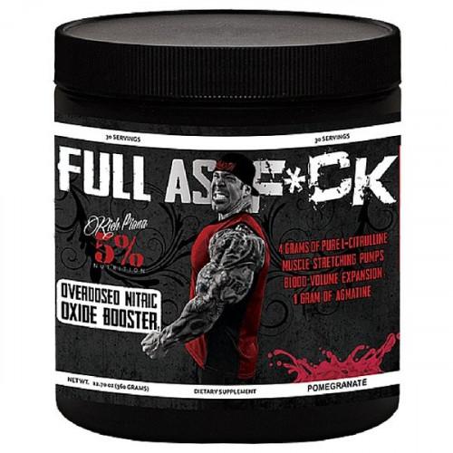 Фото RichPiana 5% Nutrition Full As F*uck, предтренировочный комплекс
