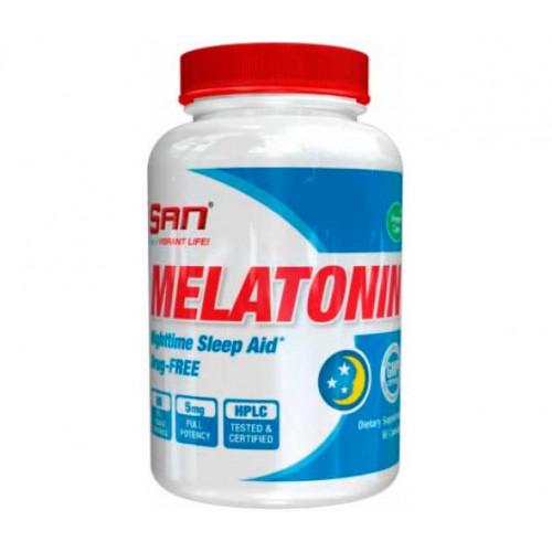 Фото SAN Melatonin 5 mg, мелатонин