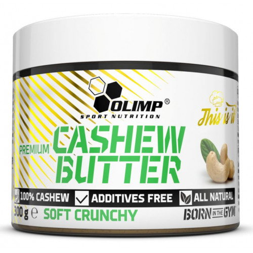 Фото Olimp Premium Cashew Butter, паста кешью