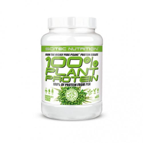 Фото Scitec Nutrition 100 % Plant Protein, гороховый протеин