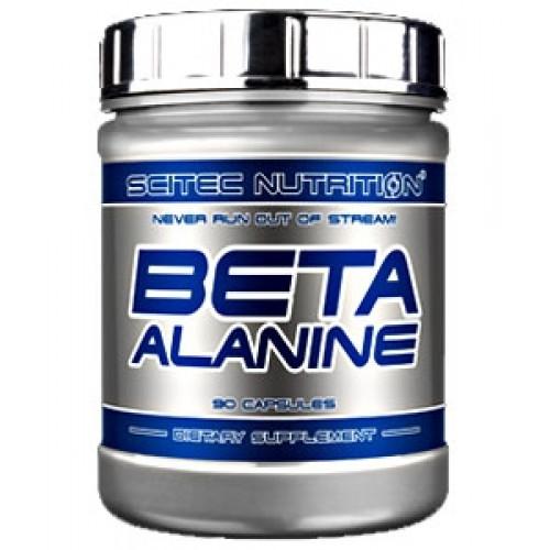 Фото Scitec Nutrition Beta Alanine 120 грамм, бета-аланин в порошке