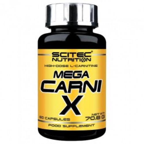 Фото Scitec Nutrition Mega Carni X, Л-карнитин