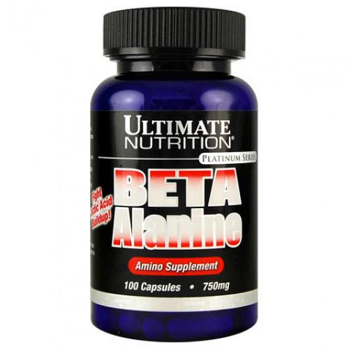 Фото Ultimate Nutrition Beta Alanine, бета аланин 750 мг