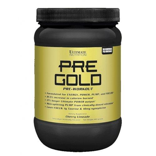 Фото Ultimate Nutrition Pre Gold, предтренировочный