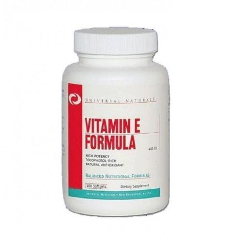Фото Universal Nutrition Vitamin E Formula, витамины