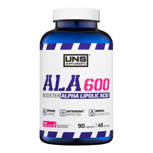 Фото UNS ALA 600, альфа-липоевая кислота 600 мг