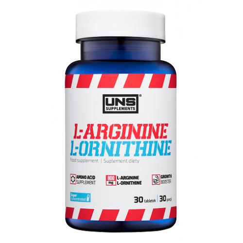 Фото UNS L-Arginine and L-Ornithine, аргинин и орнитин