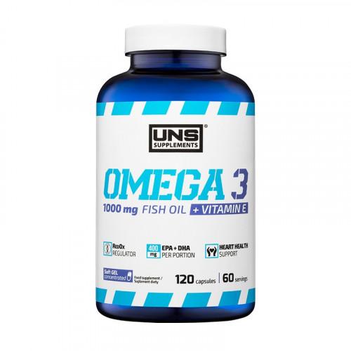Фото UNS Omega 3, рыбий жир