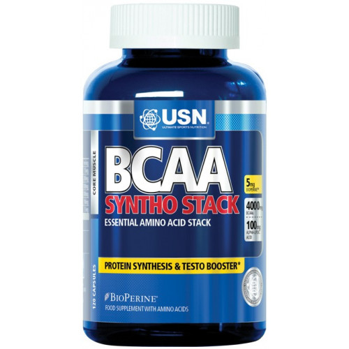 Фото USN, BCAA Syntho Stack, аминокислоты