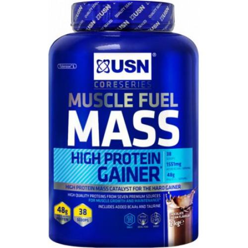 Фото USN Muscle Fuel Mass, гейнер для новичков
