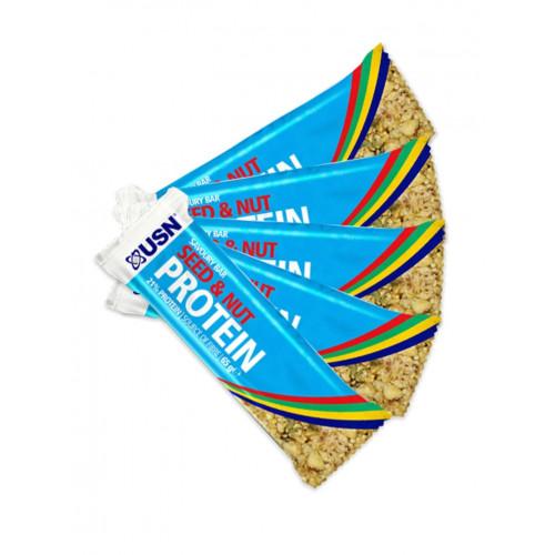 Фото USN Savoury Seed & Nut Protein Bar, батончики