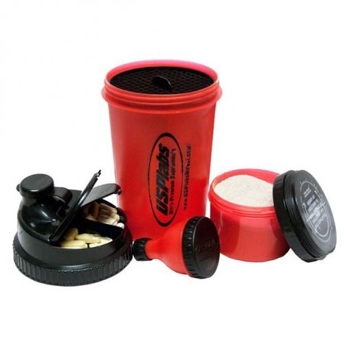Фото USP Labs 3 in 1 Shaker Cup & Fill-n-go Funnel, шейкер