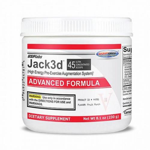 Фото USP Labs Jack 3D advanced, предтренировочный