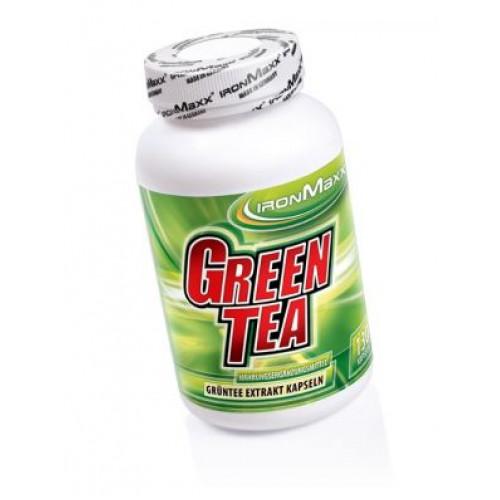 Фото Ironmaxx Green Tea 130 капсул