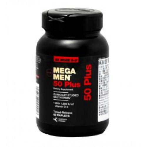 Фото GNC Mega Men 50 Plus One Daily, Витамины и минералы