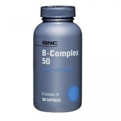 Фото GNC B-Complex 50 Витамины и минералы