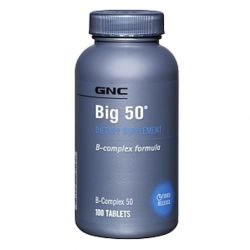 Фото GNC Big 50, Витамины и минералы