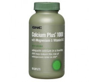 GNC Calcium Plus 1000 with Magnesium & Vitamin D-3