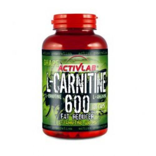 Фото Activlab L-Carnitine 600, жиросжигатель