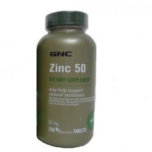 Фото GNC Zinc 50, Цинк