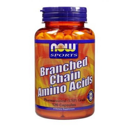 Фото NOW Branched Chain Amino Acid Powder, Аминокислоты