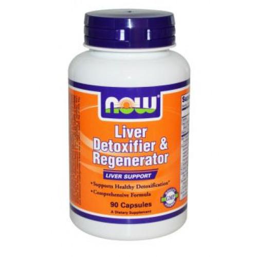 Фото NOW Liver Detoxifier & Regenerator, антиоксидант и иммуномодулятор