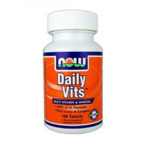Фото NOW Daily Vits, витамины и минералы