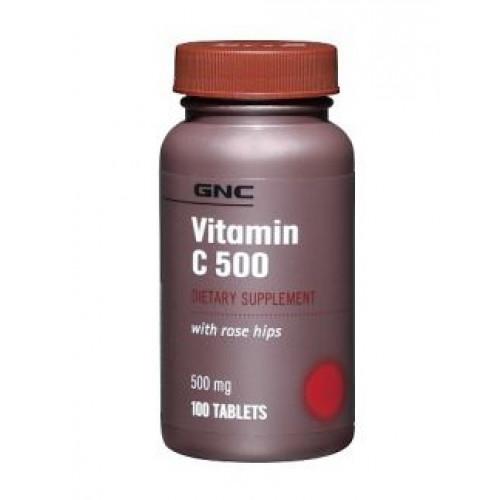 Фото GNC Vitamin C 500, Витамины
