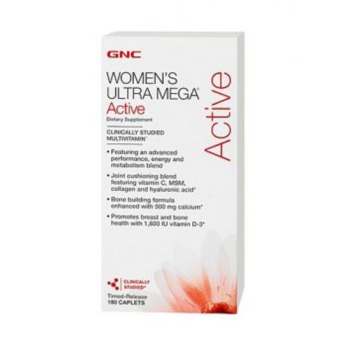 Фото GNC Women`s Ultra Mega Active, витамины для активных женщин