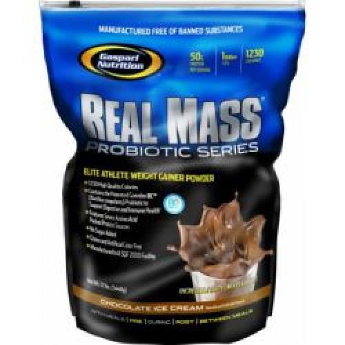 Фото Gaspari Nutrition Real Mass Probiotic, Гейнер