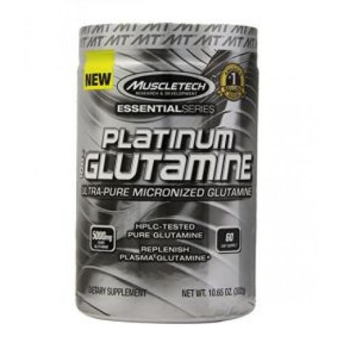 Фото MuscleTech Platinum 100% Glutamine, Глютамин