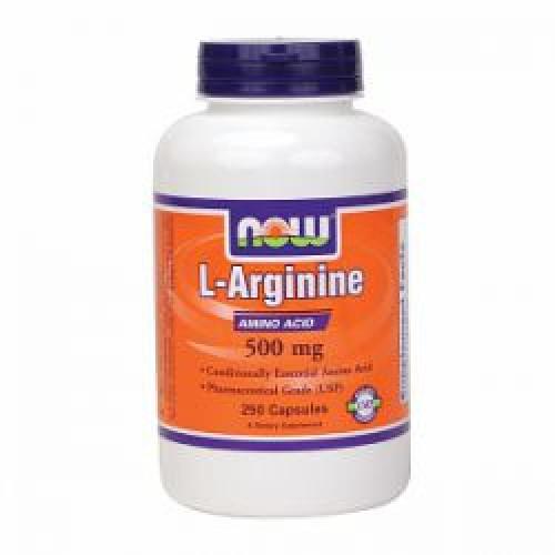 Фото NOW Arginine 500 mg
